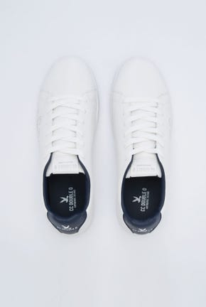 BASIC LACE-UP SNEAKERS WITH SIDE LOGO DETAIL