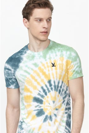 SHORT-SLEEVED TIE-DYED TEE