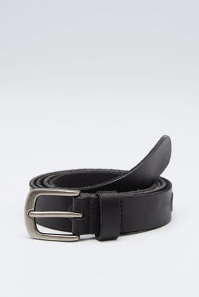 LEATHER BELT WITH NODE DETAIL