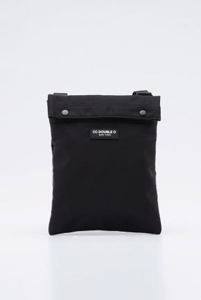 CROSSBODY BAG WITH SNAP BUTTON CLOSURE