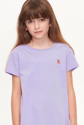 ROUND NECK BIRD LOGO TEE