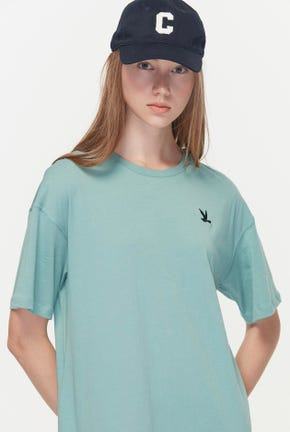 BIRD LOGO TEE DRESS