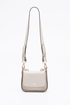 SHOULDER BAG WITH CHUNKY CHAIN STRAP