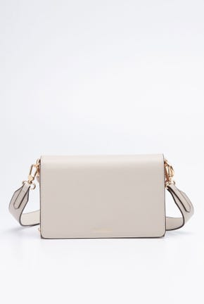 CHUNKY CHAIN CLUTCH WITH REMOVABLE STRAP