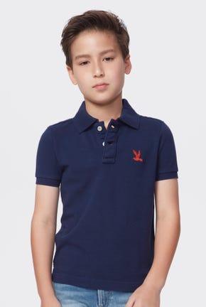 Bird Logo Polo Shirt