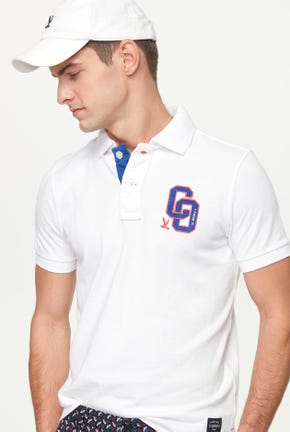 CHENILLE PATCH POLO SHIRT