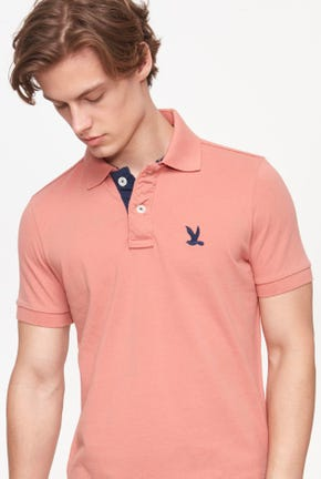 SIGNATURE BIRD LOGO POLO SHIRT