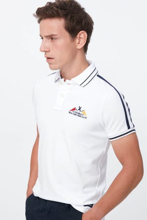 POLO SHIRT WITH LOGO DETAIL