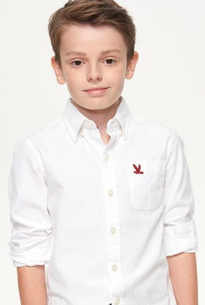 BOY LONG-SLEEVED OXFORD SHIRT