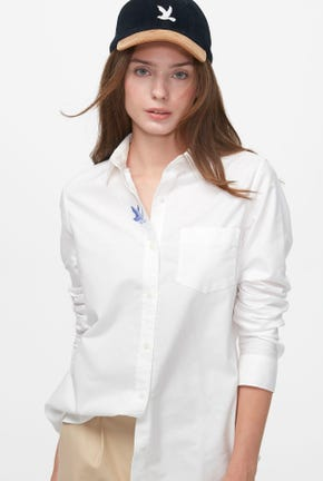 LONG-SLEEVED SHIRT WITH PATCH POCKET