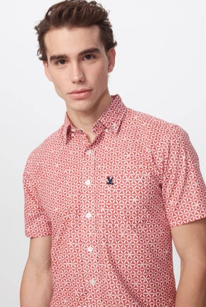 ALL-OVER GRAPHIC PRINTED SHIRT