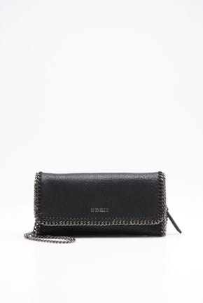 LONG WALLET WITH CHAIN TRIMMING