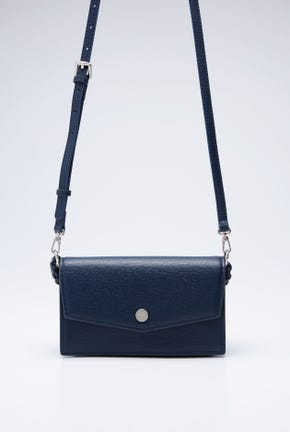 SHOULDER BAG WITH BRAIDED HANDLE