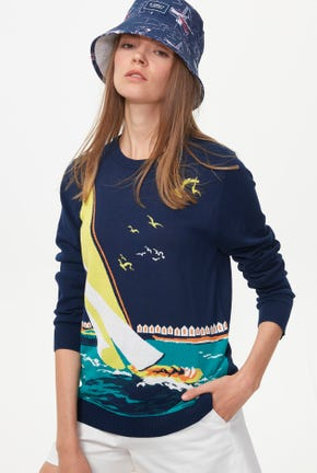 SAILING KNITTED PULLOVER