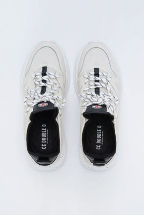 LACE-UP TOP SNEAKERS