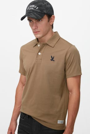 SHORT-SLEEVED JERSEY POLO