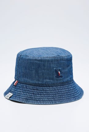 CHAMBRAY REVERSIBLE BUCKET HAT