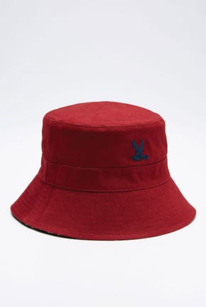 REVERSIBLE PRINTED BUCKET HAT