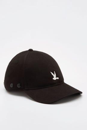 BIRD LOGO CAP WITH FACE SHIELD