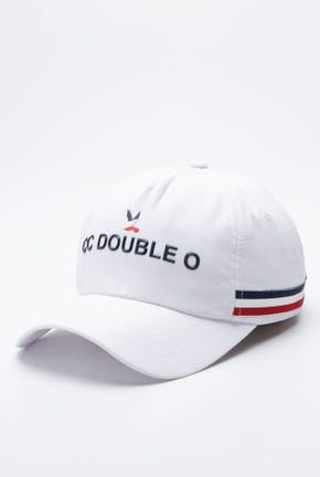 LOGO CAP WITH STRIPED DETAIL