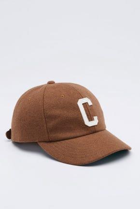 """""""C"""" FLANNEL CAP"""