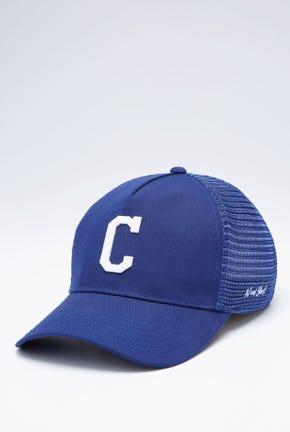 C LOGO TRUCKER CAP