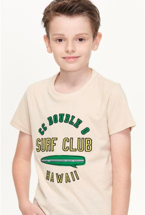 SURF CLUB LOGO GRAPHIC TEE