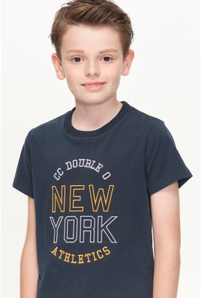 NEW YORK LOGO GRAPHIC TEE