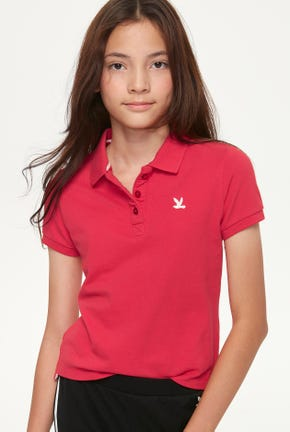 GIRL BIRD LOGO POLO SHIRT