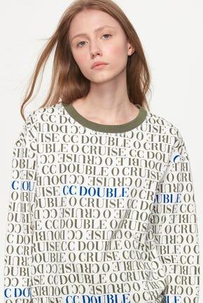 เสื้อกันหนาวแบบสวมแต่งลายโลโก้