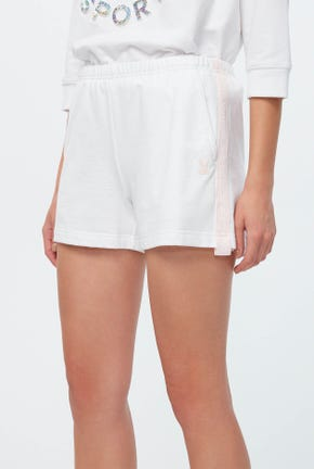 CONTRAST SIDE PANEL SHORTS