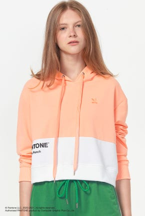 PANTONE CROPPED PULLOVER