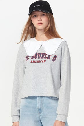 CC DOUBLE O CROPPED PULLOVER
