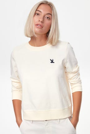 WINTER PULLOVER WITH BIRD LOGO