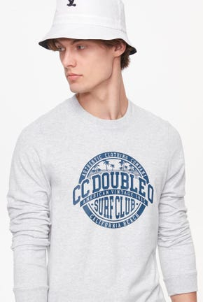 LONG-SLEEVED SURF CLUB GRAPHIC TEE