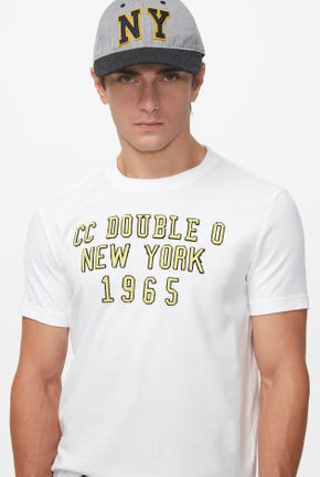 NEW YORK 1965 LOGO GRAPHIC TEE