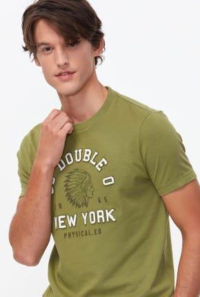 NEW YORK LOGO GRAPHIC TEE-MPMTWA2138