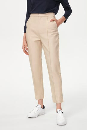 BASIC DARTED TROUSERS