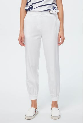 SIDE BELTED JOGGERS