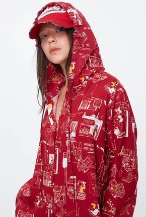PIN UP CARTOON SHIRT DRESS