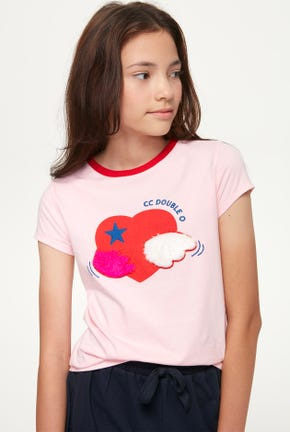 MINI LOVE WINGS LOGO GRAPHIC TEE