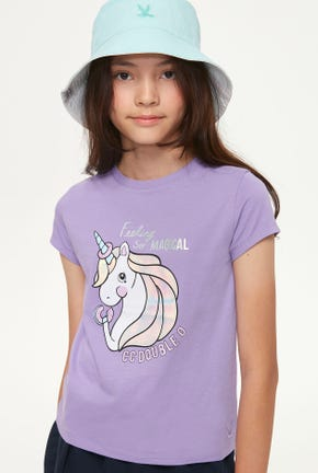 FANCY UNICORN GRAPHIC TEE