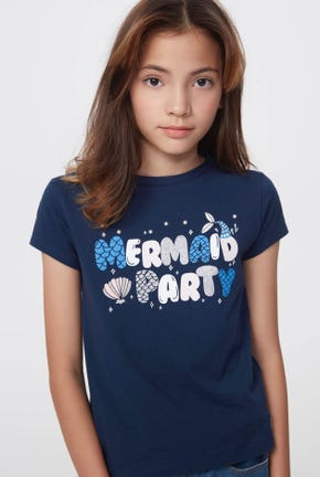 MERMAID PARTY GRAPHIC TEE