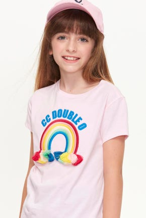 RAINBOW GRAPHIC TEE