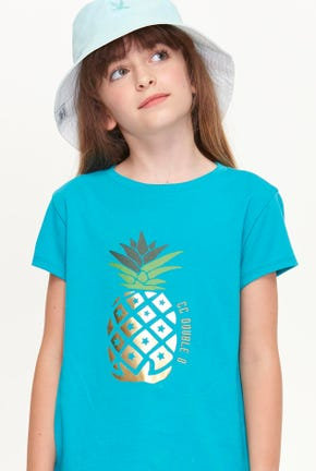 MINI PINEAPPLE GRAPHIC TEE