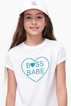 BOSS BABE GRAPHIC TEE-STGNWA2131