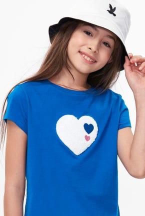 BIG HEART GRAPHIC TEE-STGNWA2132