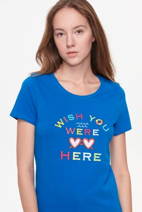 MISSING YOU GRAPHIC TEE