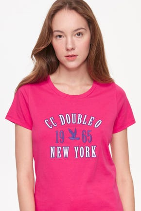 CC DOUBLE O LOGO GRAPHIC TEE