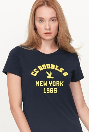 NEW YORK 1965 LOGO GRAPHIC TEE